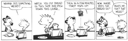 calvinandhobbes toast