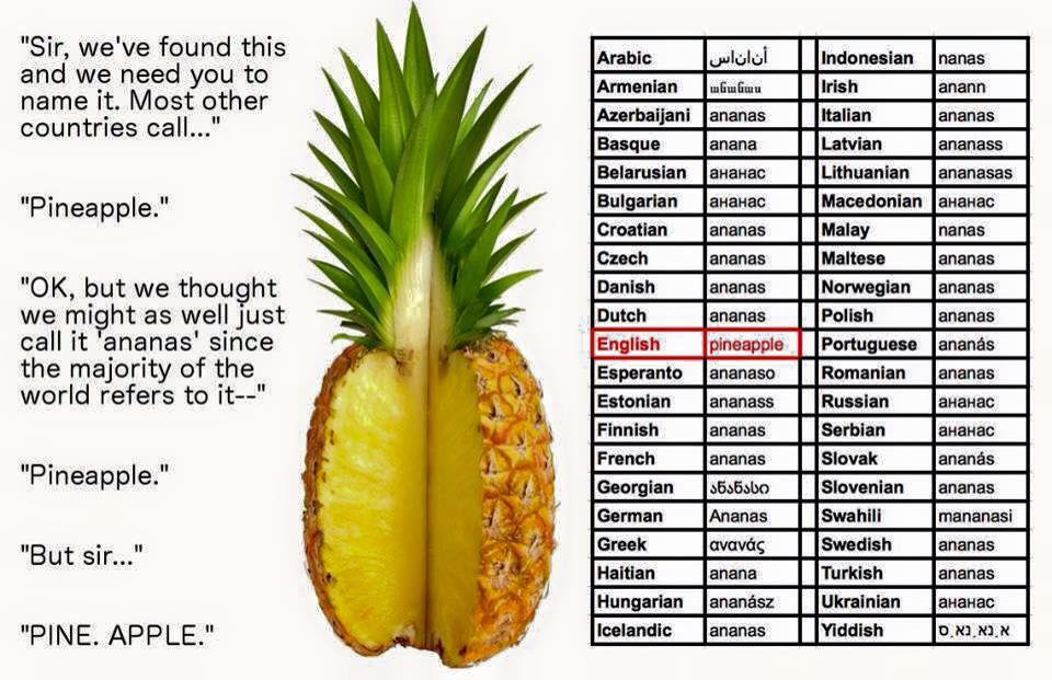 What should we name a pineapple