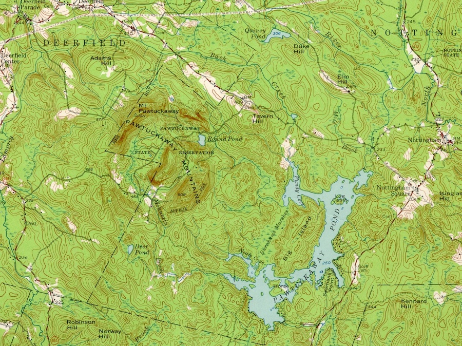 http://en.wikipedia.org/wiki/Pawtuckaway_State_Park