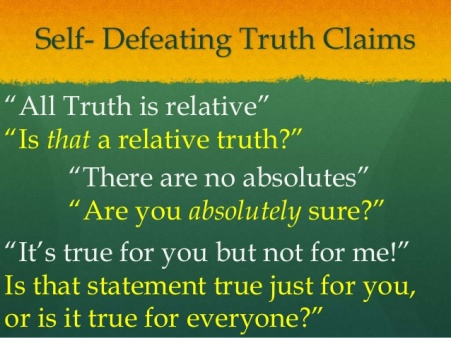 relative or absolute truth 2