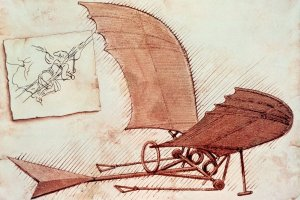 Da Vinci flying-machine