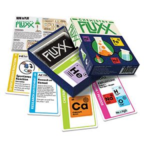 Chemistry Fluxx game