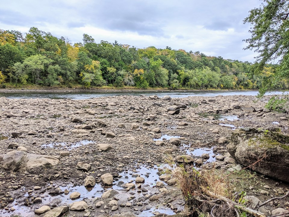 Haverhill River low tide 10 7 2019